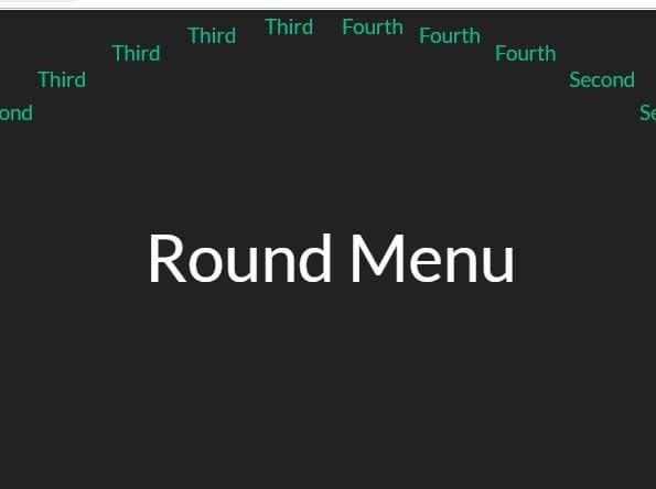 Minimal Circular Menu In jQuery - roundMenu