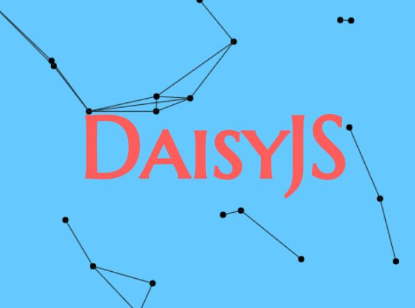 Interactive Background Particle System In JavaScript - daisy.js