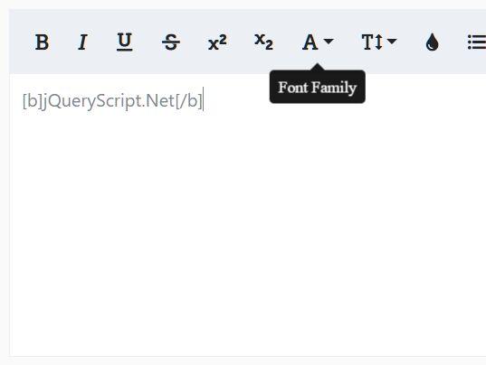 jQuery WYSIWYG Editor Plugins | jQuery Script