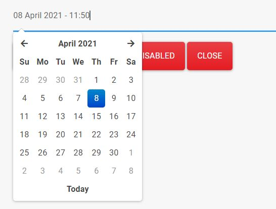 Bootstrap 4 Date Time Picker With jQuery