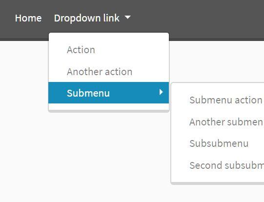 Enhance Bootstrap 4 Navbar With Multilevel Dropdowns