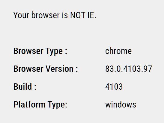 Client Browser & Platform Detection Plugin - jQuery Depend