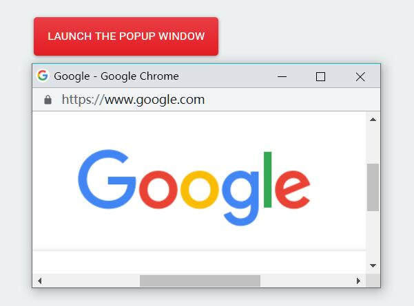 Customizable New Browser Window Plugin - jQuery Window Popup
