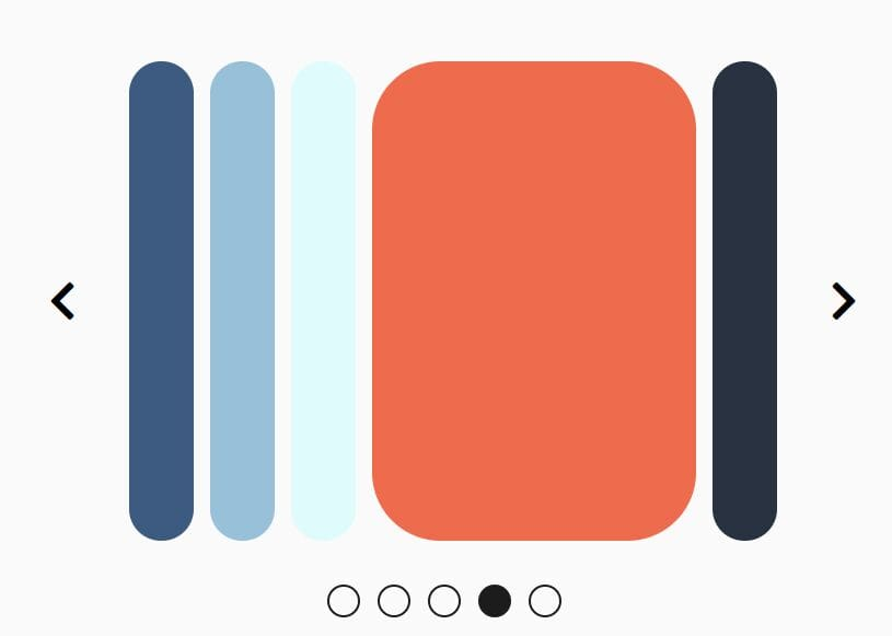 jQuery Carousel Slider With Accordion Style Transitions