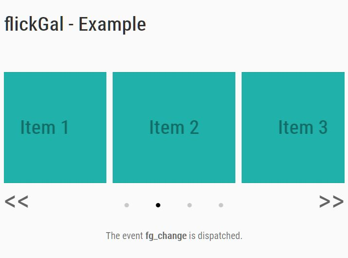 Mobile-friendly Slider/Carousel - jQuery flickGal