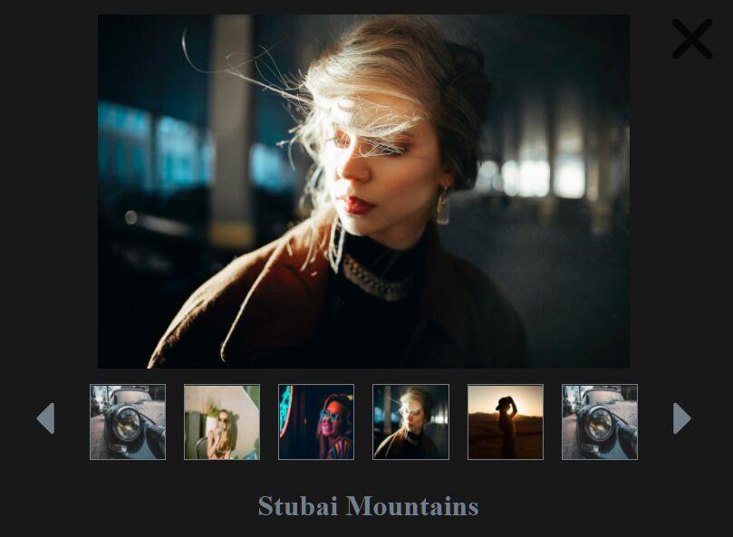 Simple Carousel/Slideshow Plugin - jQuery mibreitGallery