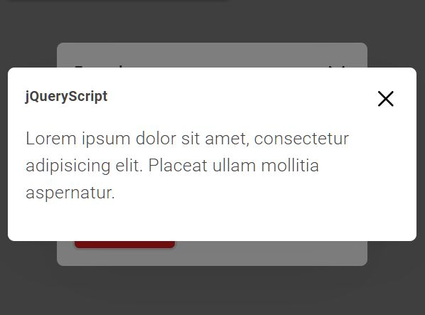 Pretty Clean Popup Window Plugin - jQuery Simple Modal