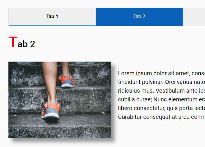 Professional Clean Tabbed Content In jQuery