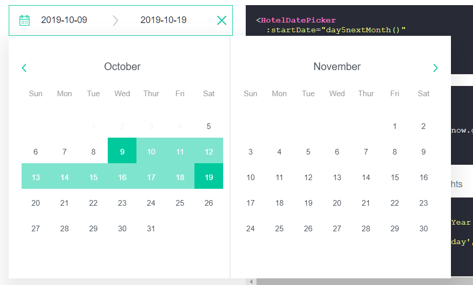 10 Best Date Picker Components For Vue.js