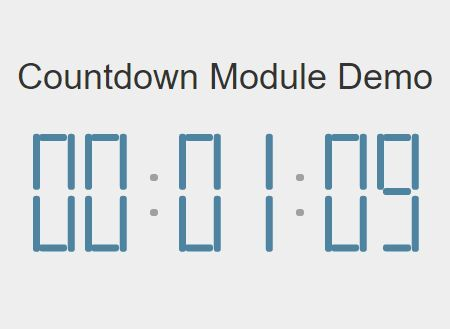 5 Best Countdown Timer JavaScript Libraries For 2019
