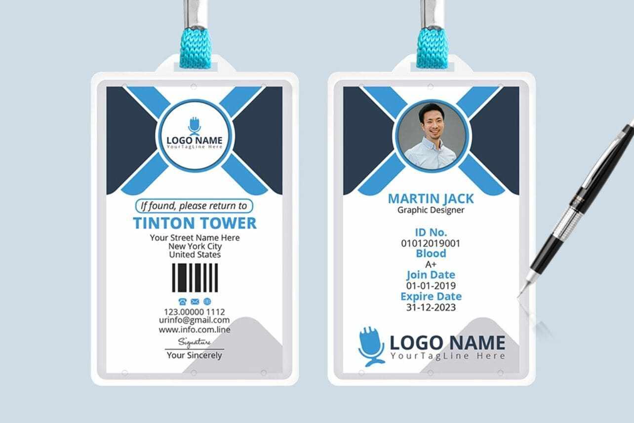 7 Best Realistic & Professional ID Card Mockups