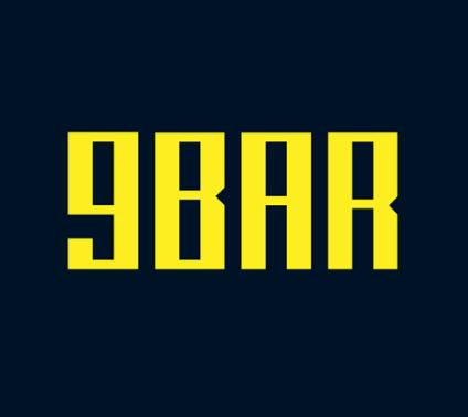 9BAR Typeface