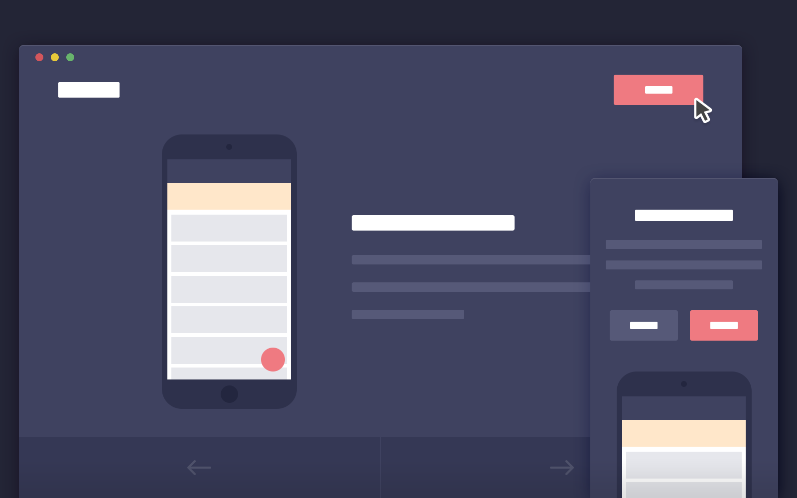 Jquery plugins to work with data presentation and grid layout - App Introduction Template