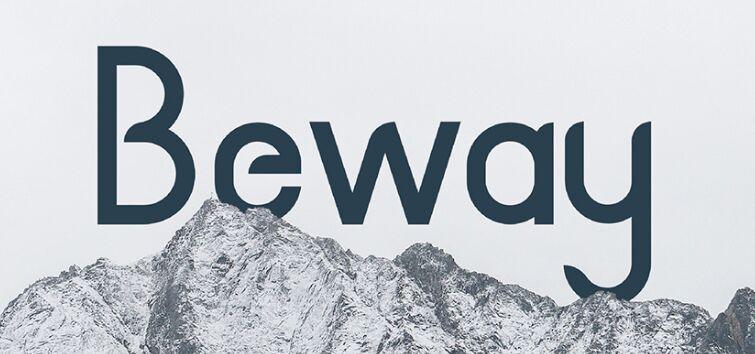 BEWAY Free Font