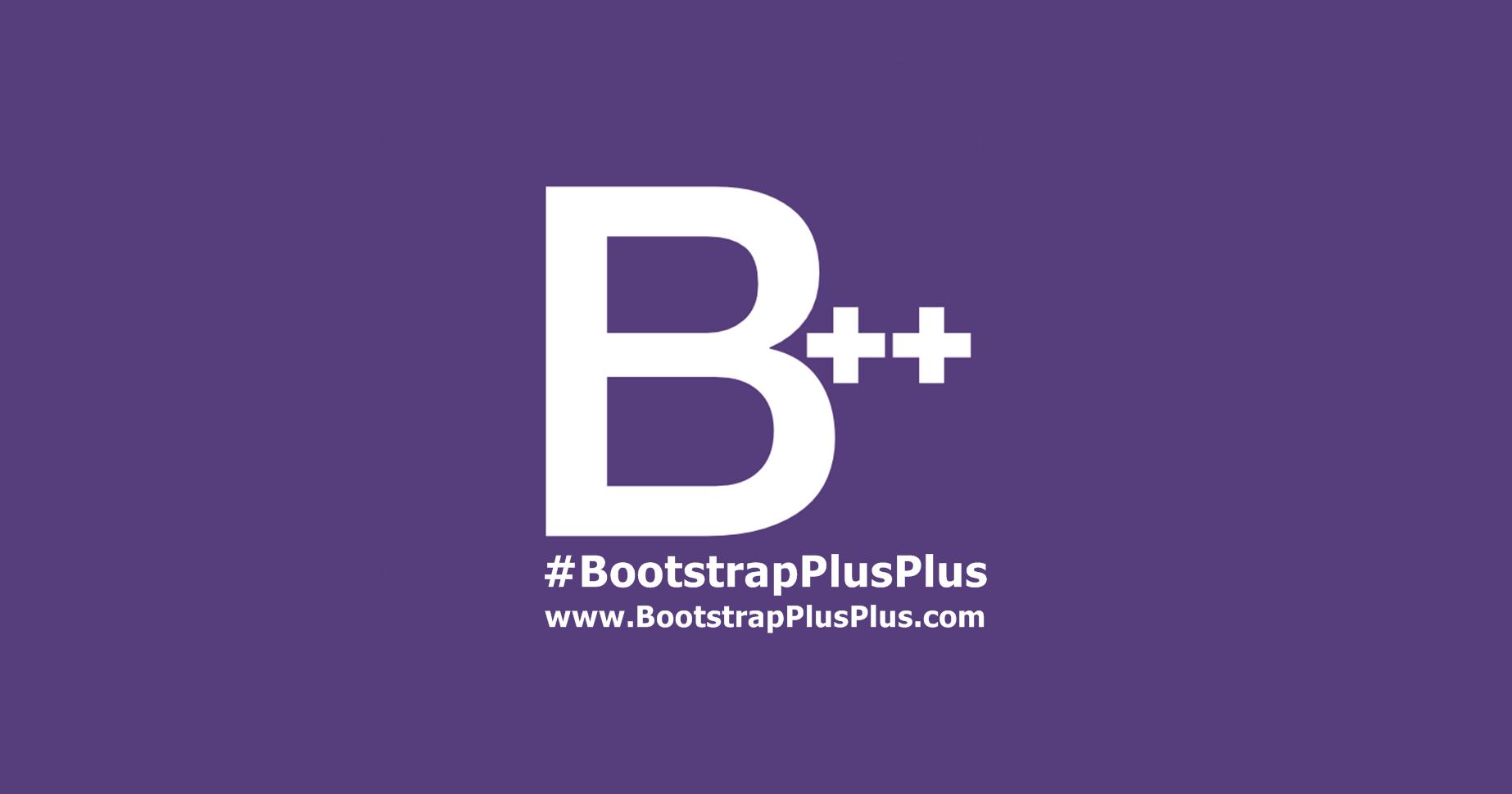 BootstrapPlusPlus