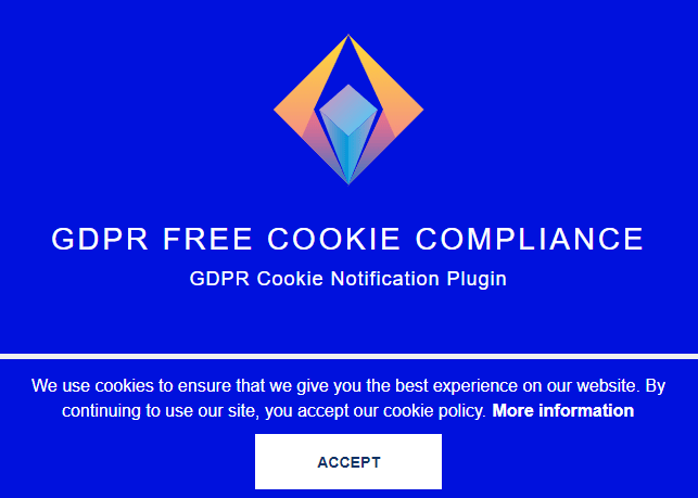 GDPR Cookie Notification Plugin