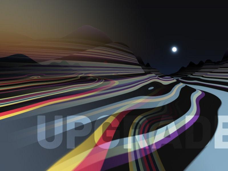 Interactive Animated Landscape