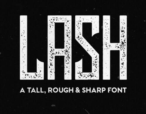 Lash Free Font