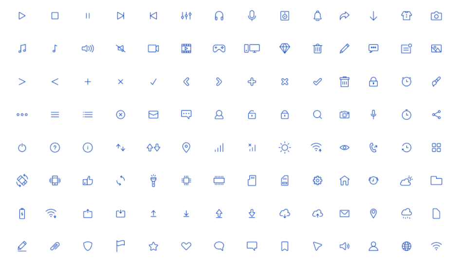 Light Icons Free Download