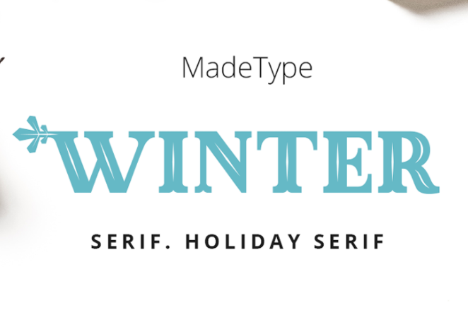 MADE Winter Font