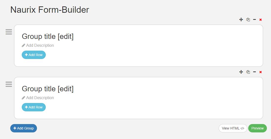 Naurix Form-Builder