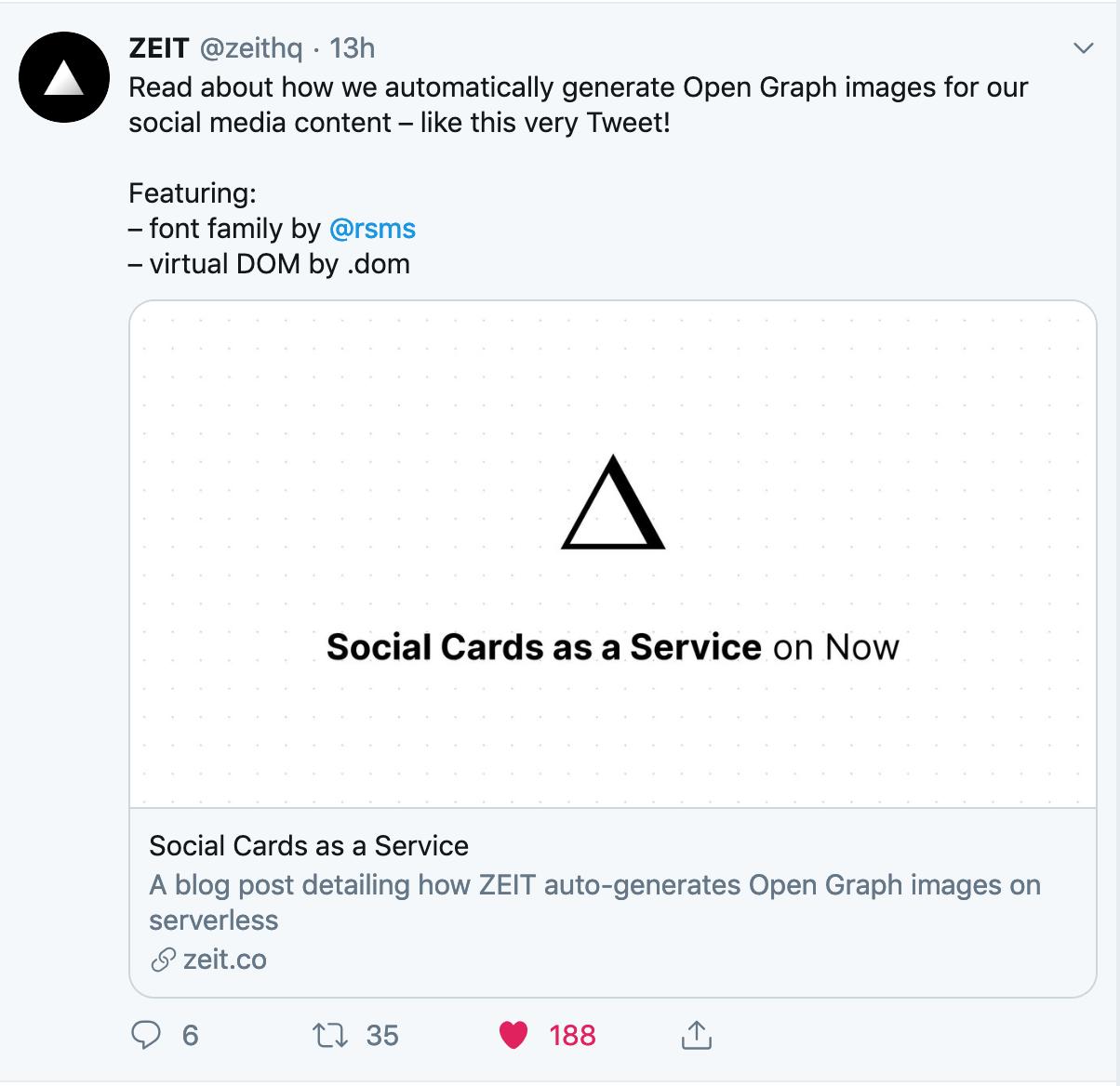 Open Graph Image as a Service
