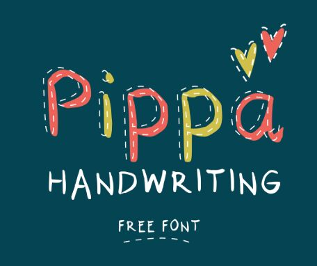 Pippa Handwriting Font