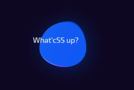 Pure CSS Gooey Morph