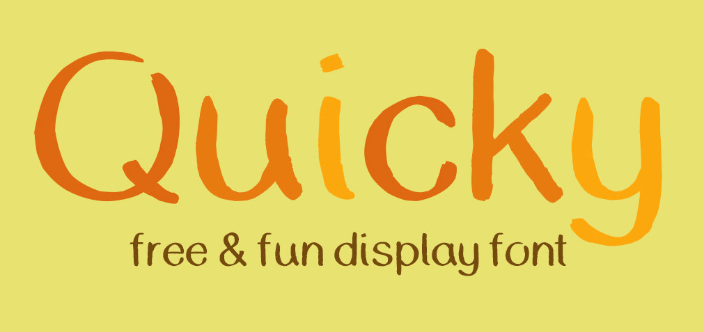 QUICKY Font