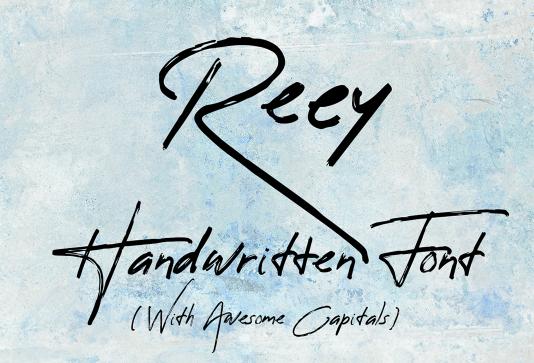 Reey Free Script Font