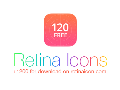 RetinaIcon Freebie