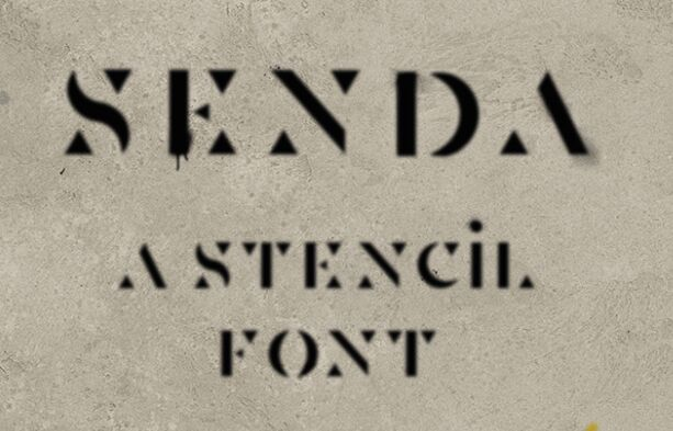 Senda Display Font