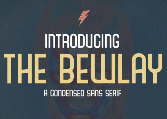The Bewlay Font