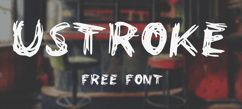 UStroke Font