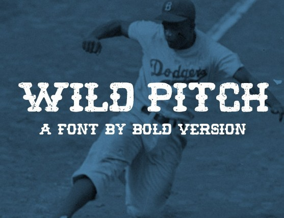 Wild Pitch Font