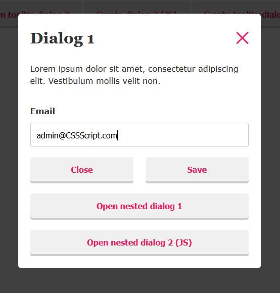 a11y-dialog-component