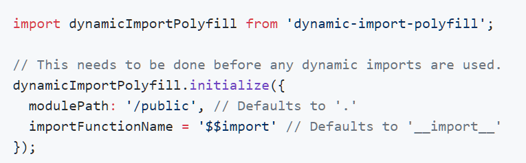 dynamic-import-polyfill