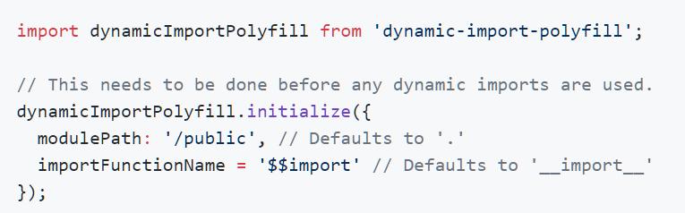 dynamic-import-polyfill