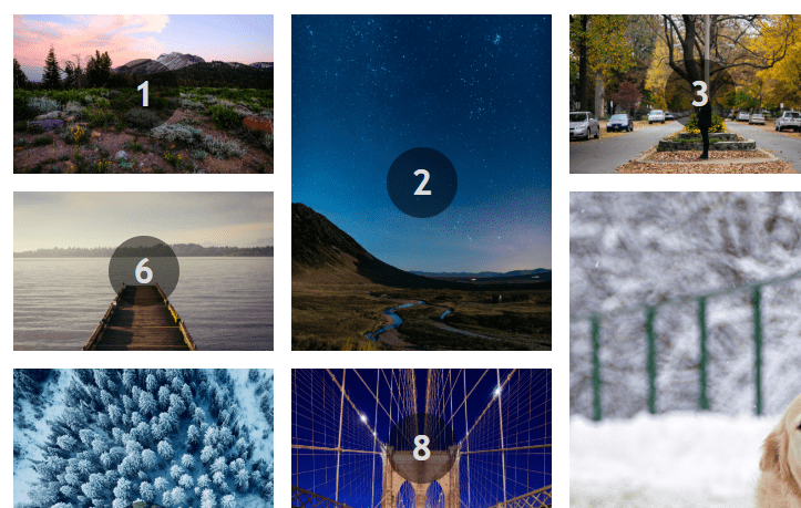 jQuery Masonry Layout with Grid