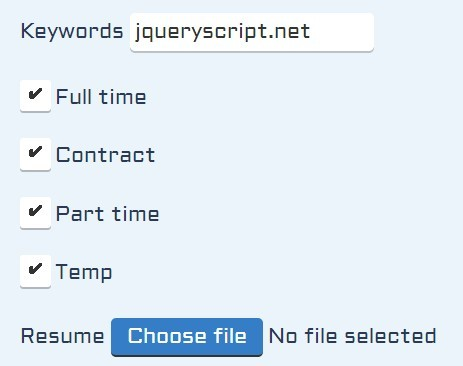 jQuery coolform
