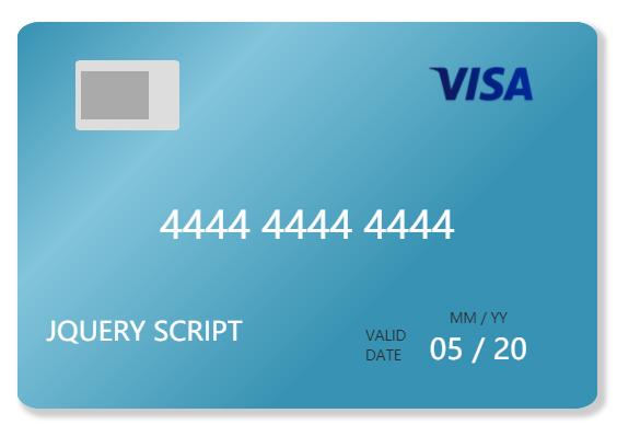 jQuery easycard