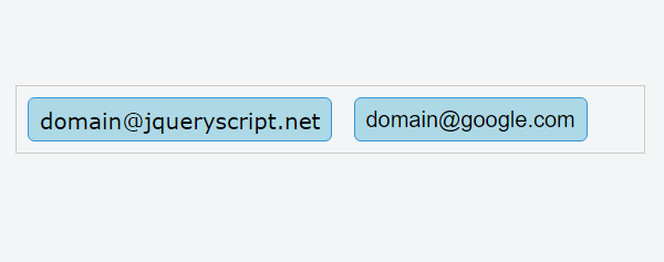 jQuery email-tokeninput