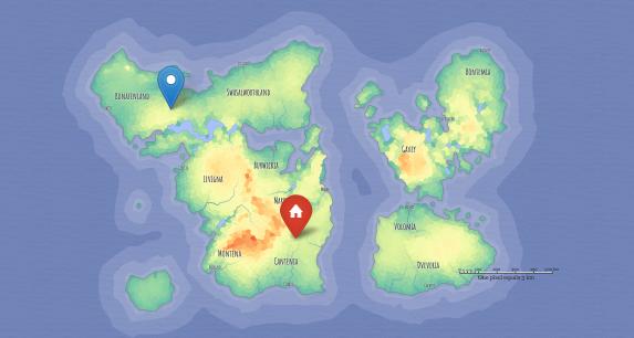 jQuery fantasy-map