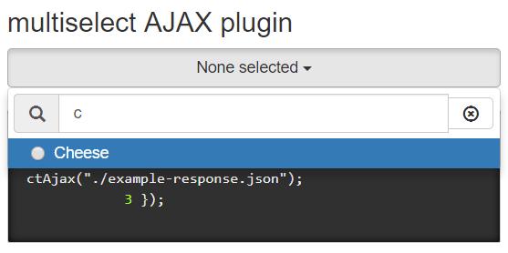jQuery multiselectAjax
