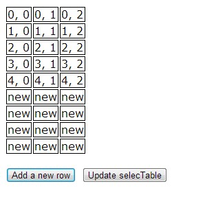 jQuery selectable