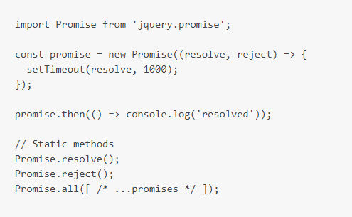 jquery.promise