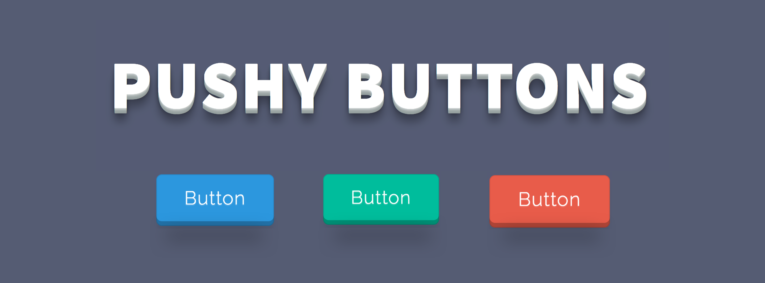 pushy-buttons