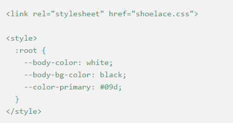 shoelace-css
