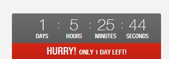 simple jquery countdown