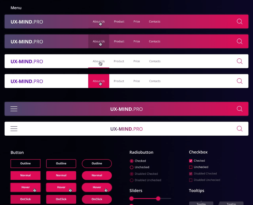 uxmind UI Kit